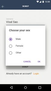 Signup Sex